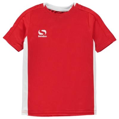 Tricou Sondico Fundamental Polo pentru baietei rosu alb