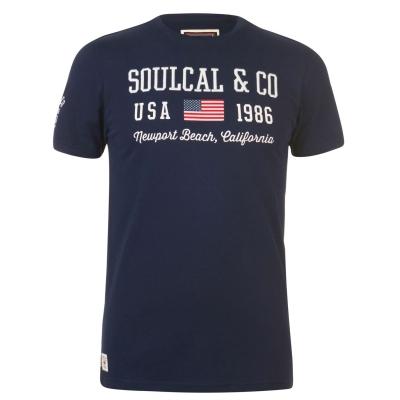 Tricou SoulCal USA pentru Barbati