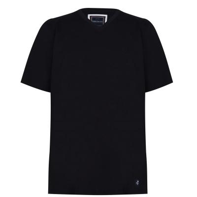 Tricou SoulCal Signature cu decolteu in V pentru Barbati negru