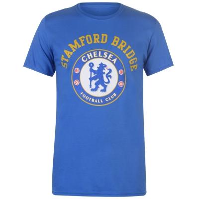 Tricou Source Lab Chelsea Crest pentru Barbati albastru