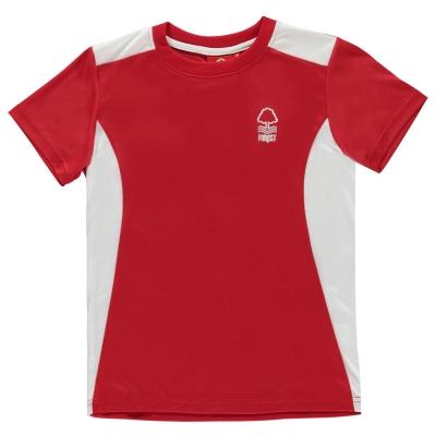 Tricou Source Lab Lab Nottingham Forest fotbal Club Poly pentru Barbati rosu