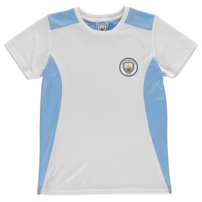 Tricou Source Lab Manchester City pentru baietei albastru