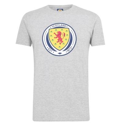 Tricou Source Lab Scotland pentru Barbati gri