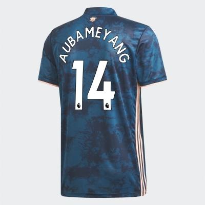Tricou sport Third adidas Arsenal Pierre Emerick Aubameyang 2020 2021 pentru copii albastru