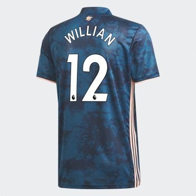 Tricou sport Third adidas Arsenal Willian 2020 2021 albastru