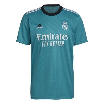 Tricou sport Third adidas Real Madrid 2021 2022 albastru