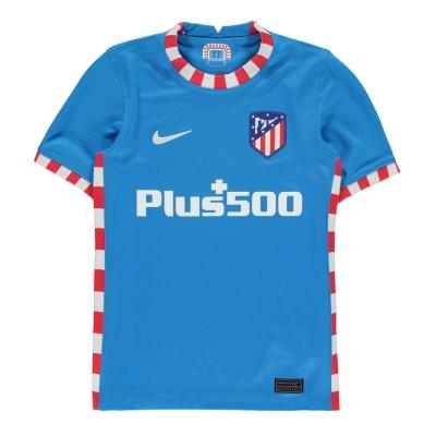Tricou sport Third Nike Atletico Madrid 2021 2022 pentru copii albastru