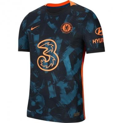 Tricou sport Third Nike Chelsea Match 2021 2022 albastru rosu