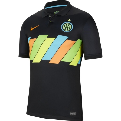 Tricou sport Third Nike Inter Milan 2021 2022 negru