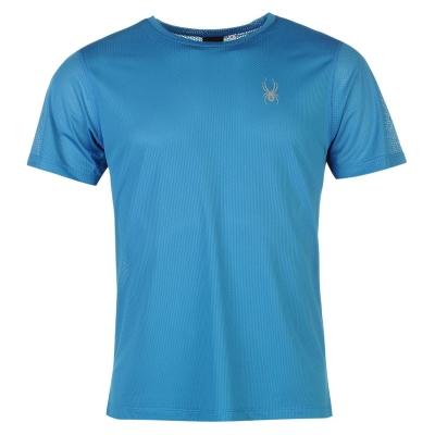 Tricou Spyder Alpine pentru Barbati albastru negru
