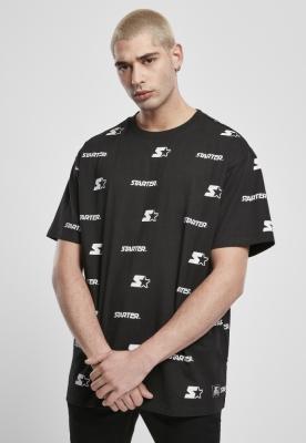 Tricou Starter Logo AOP negru