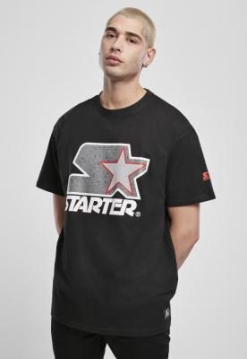 Tricou Starter Multicolored Logo negru-gri