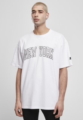 Tricou Starter New York alb