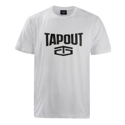 Tricou Tapout Crew pentru Barbati alb