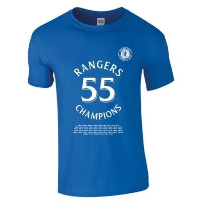 Tricou Team Rangers 55 Champions pentru Barbati albastru