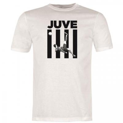 Tricou Team Ronaldo Juve pentru Barbati alb