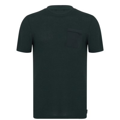 Tricou TED BAKER Homework inchis verde
