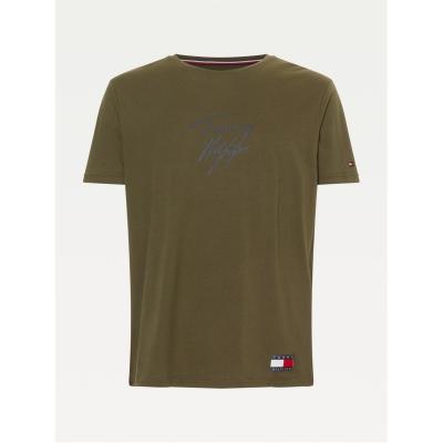 Tricou Tommy Bodywear 85 military verde