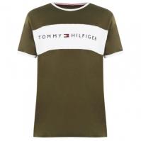 Tricouri Tommy Bodywear Neck oliv night li1