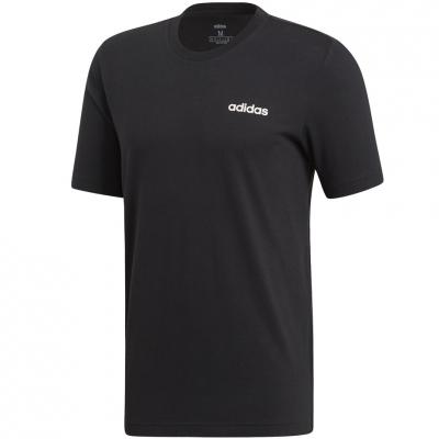 Tricou barbati adidas Essentials Plain negru DU0367