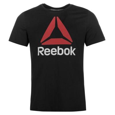 Tricou Tricou Reebok Stack Delta barbati pentru Barbati negru