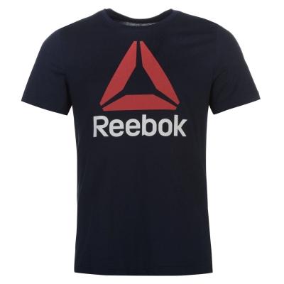 Tricou Tricou Reebok Stack Delta barbati pentru Barbati bleumarin