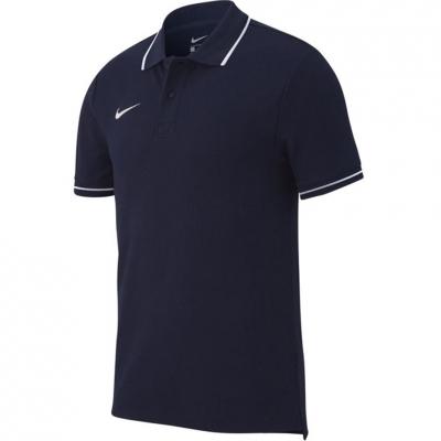 Tricou polobarbati Nike Team Club 19 SS bleumarin AJ1502 451