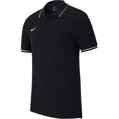 Tricou polobarbati Nike Team Club 19 SS negru AJ1502 010