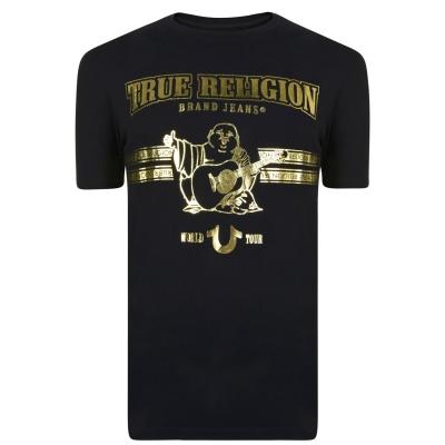 Tricou True Religion negru