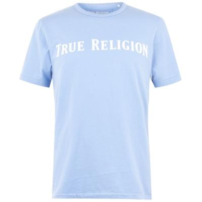 Tricou True Religion Script albastru smu