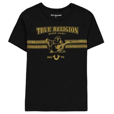 Tricou True Religion Buddha pentru baietei negru