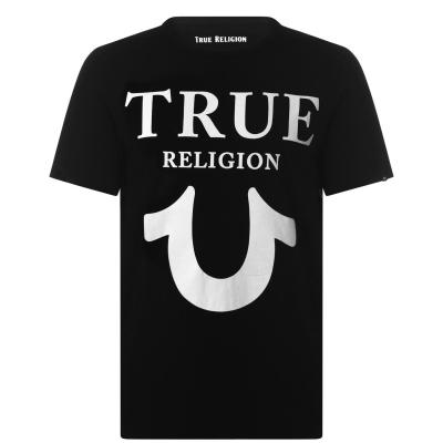 Tricou True Religion Horseshoe negru