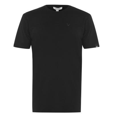 Tricouri Tricou cu logo True Religion Horseshoe - negru