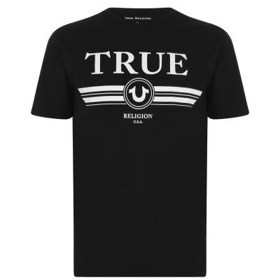 Tricou TRUE RELIGION Retro negru