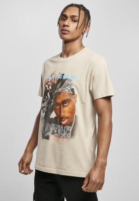 Tricou Tupac Retro bej Mister Tee