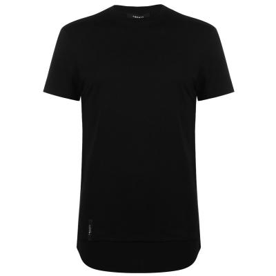 Tricou TWENTY Dawson Long Line negru