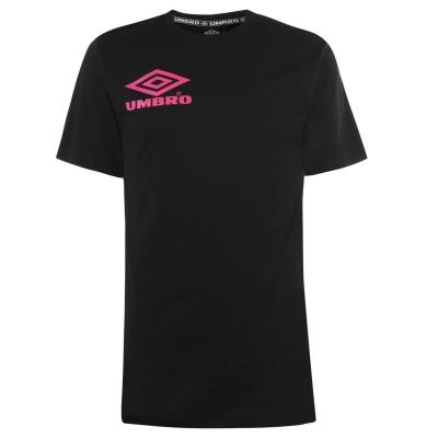 Tricou Umbro Collider negru roz