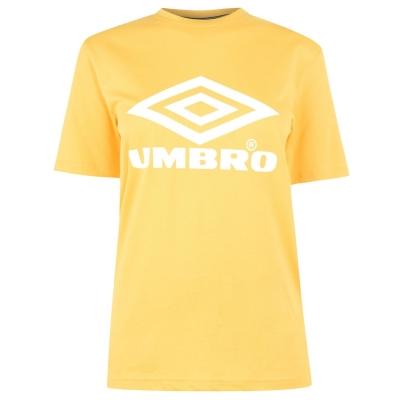 Tricou Umbro Umbro Boyfriend pentru femei aurora galben