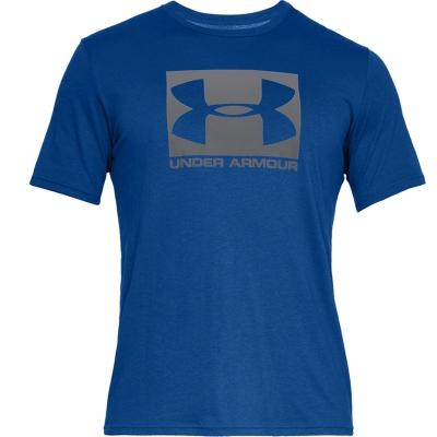 Tricou Under Armor Boxed Sportstyle Ss albastru 1329581 400 pentru Barbati