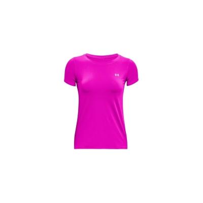 Tricou Under Armour cu Maneca Scurta Performance pentru femei meteor roz