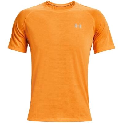 Tricou Under Armour Streaker Performance omega portocaliu