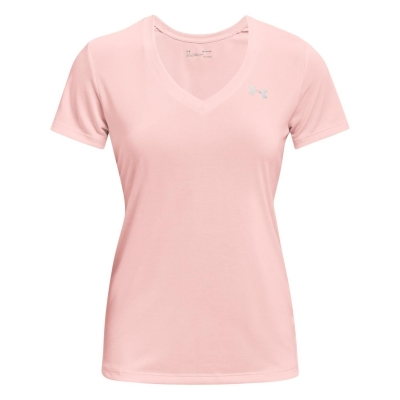 Tricou Under Armour Tech Twist pentru Femei roz