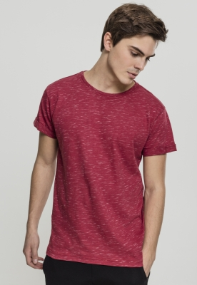 Tricou urban rosu-alb Urban Classics