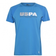 Tricou US Polo Assn Contour pentru Barbati dresden albastru