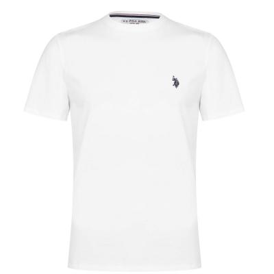 Tricou US Polo Assn US Core bright alb