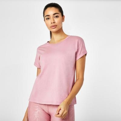 Tricou USA Pro cu Maneca Scurta Sports roz
