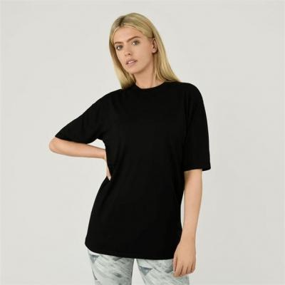 Tricou USA Pro supradimensionat negru
