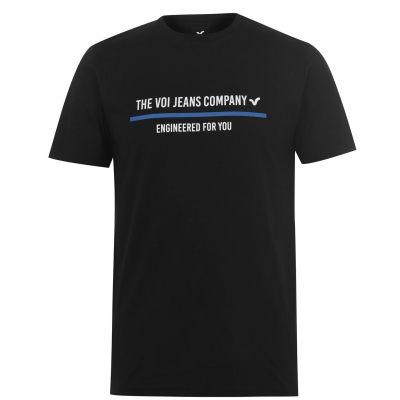 Tricou VOI Avezano pentru Barbati negru