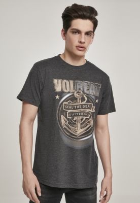Tricou Volbeat Seal The Deal gri carbune Merchcode