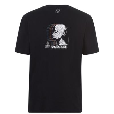 Tricou Volcom Gridlock cu maneca scurta pentru Barbati negru